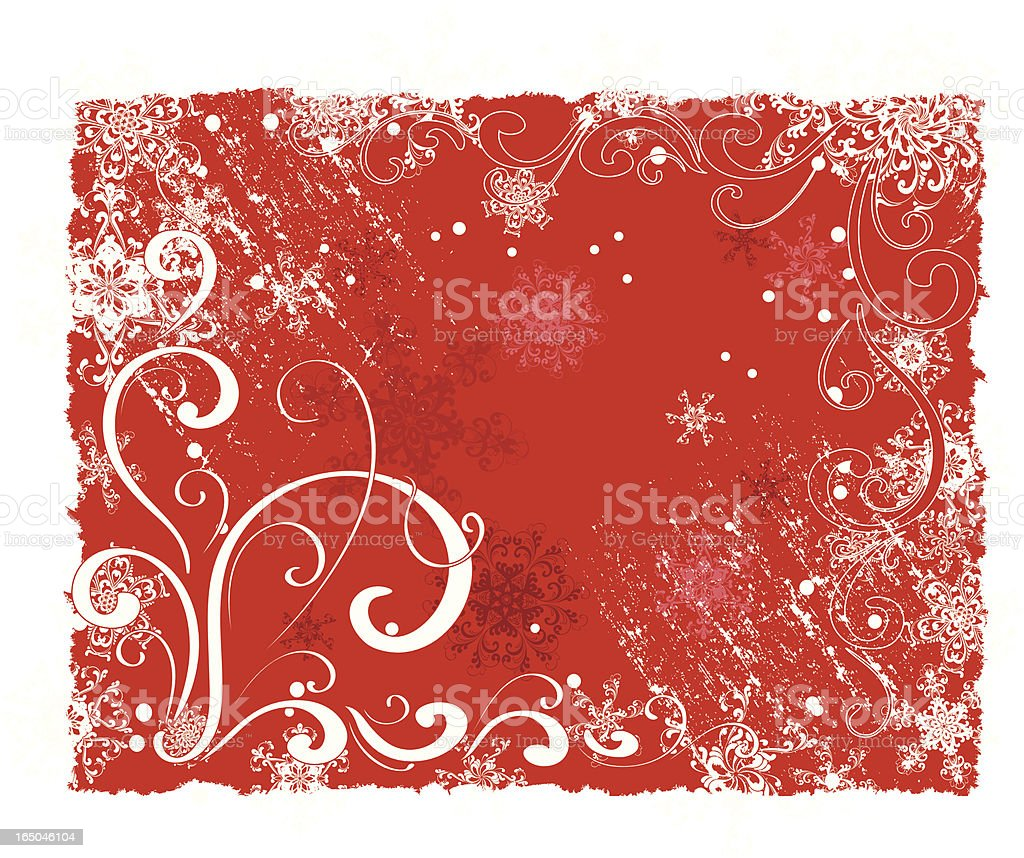 Winter ornament royalty-free stock vector art