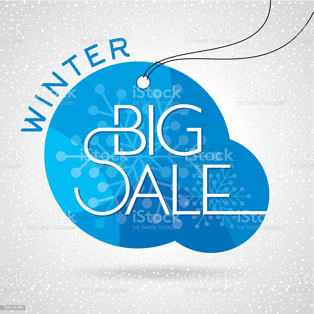 Poster design business - Winter Sale Poster Design Or Background Creative Business Promotional Vector Royalty Free Stock