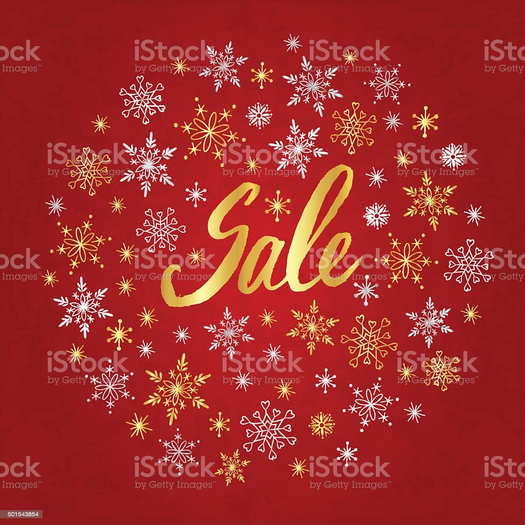 Img or background image - Winter Sale Poster Design Template Or Background Royalty Free Stock Vector Art