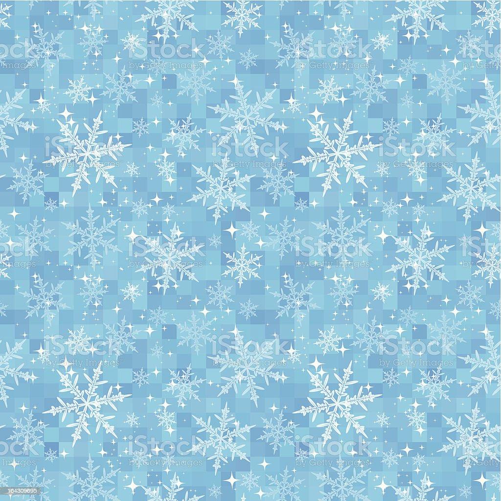 Winter Seamless Pattern royalty-free stock vector art