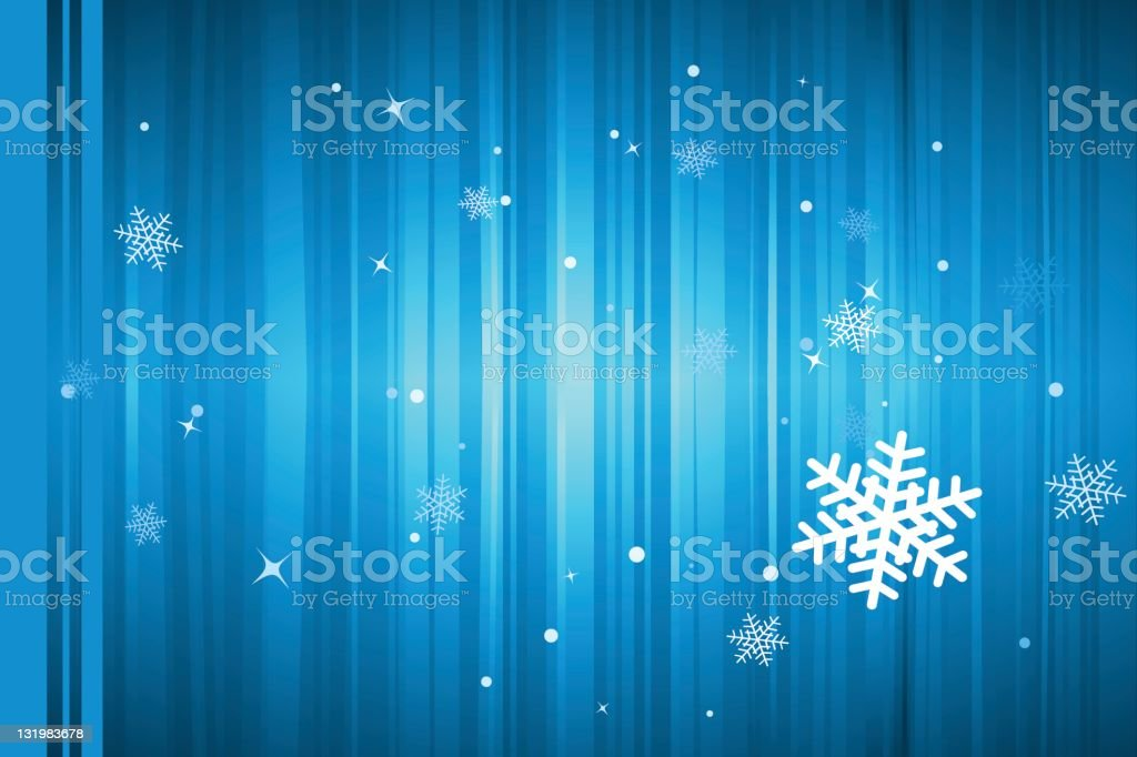 Winter snowflake royalty-free stock vector art