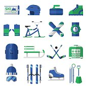 Winter Sports Icons