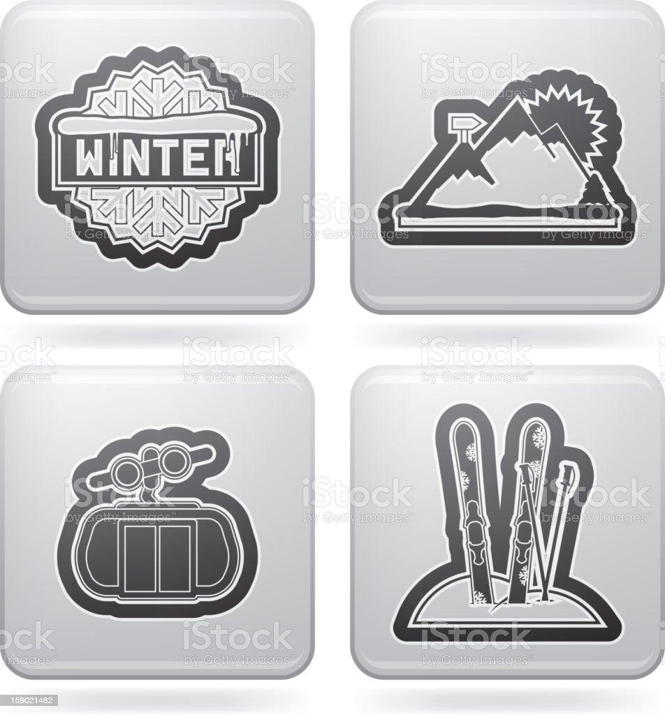 Winter sports royalty-free stock photo