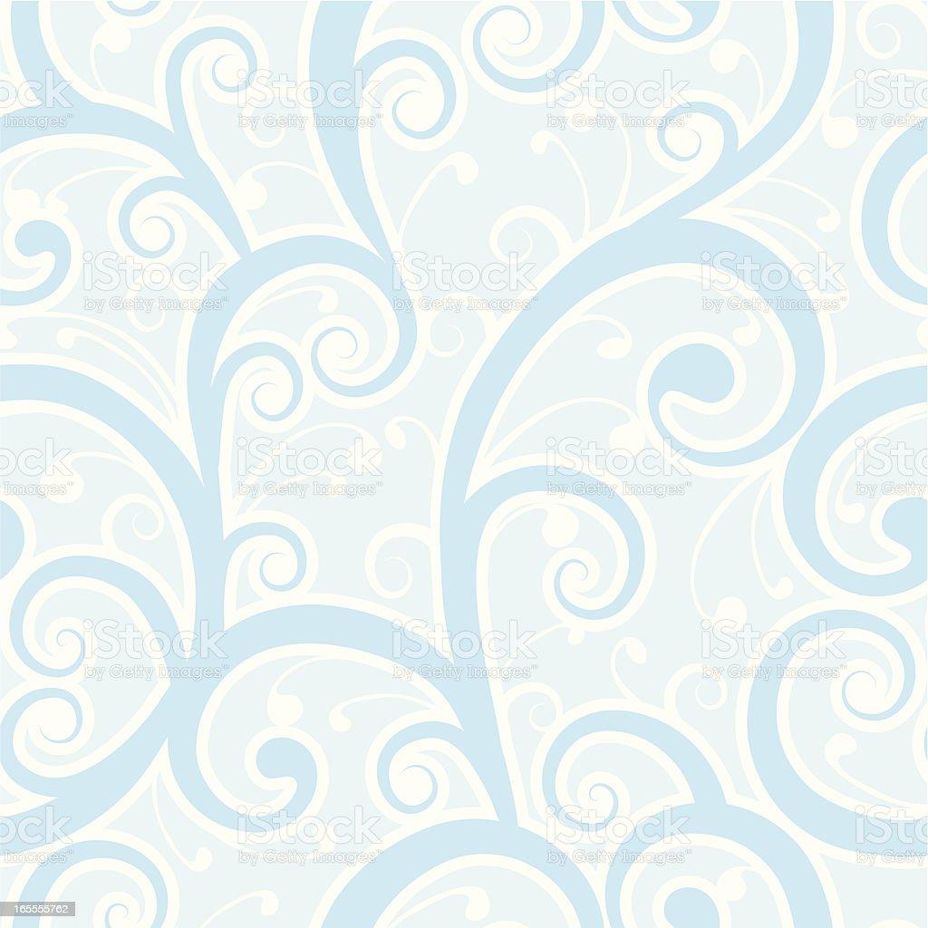 Winter swirls royalty-free stock vector art