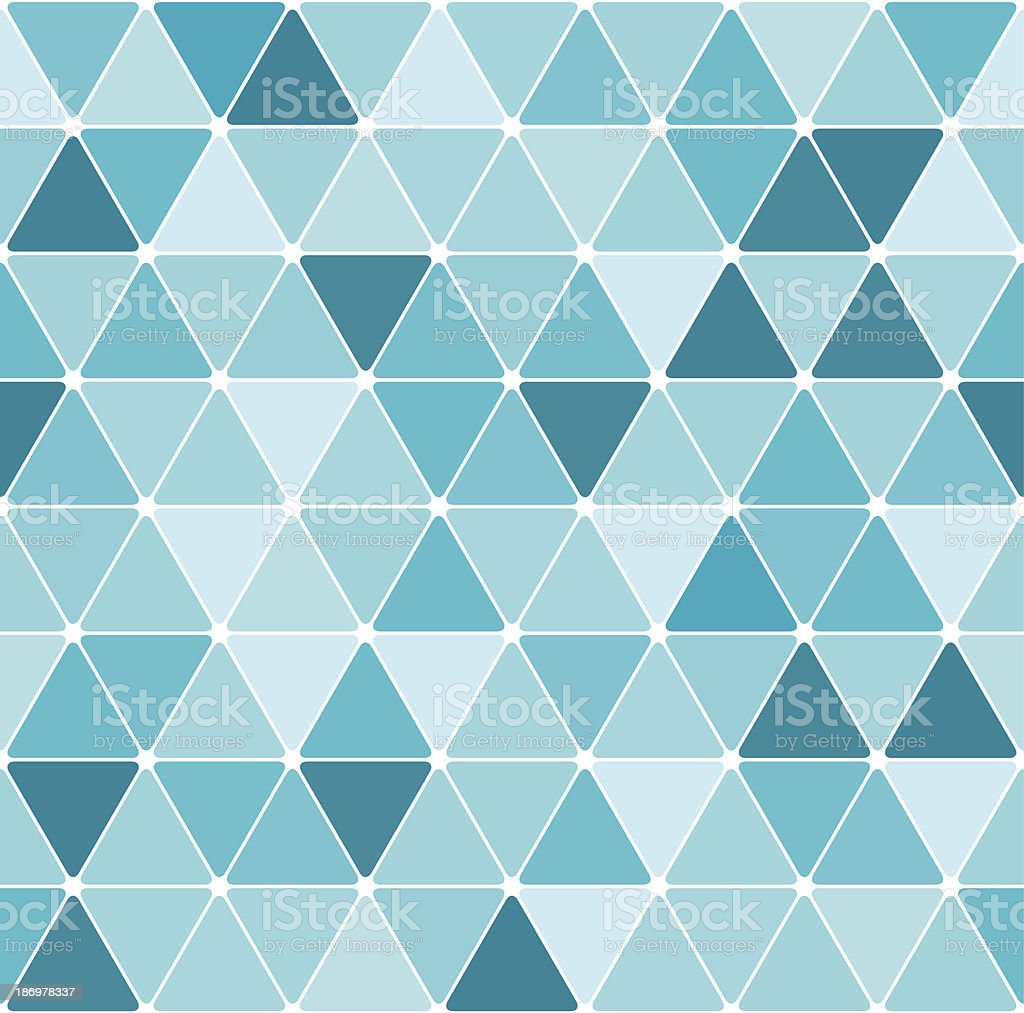 Winter triangle pattern royalty-free stock vector art