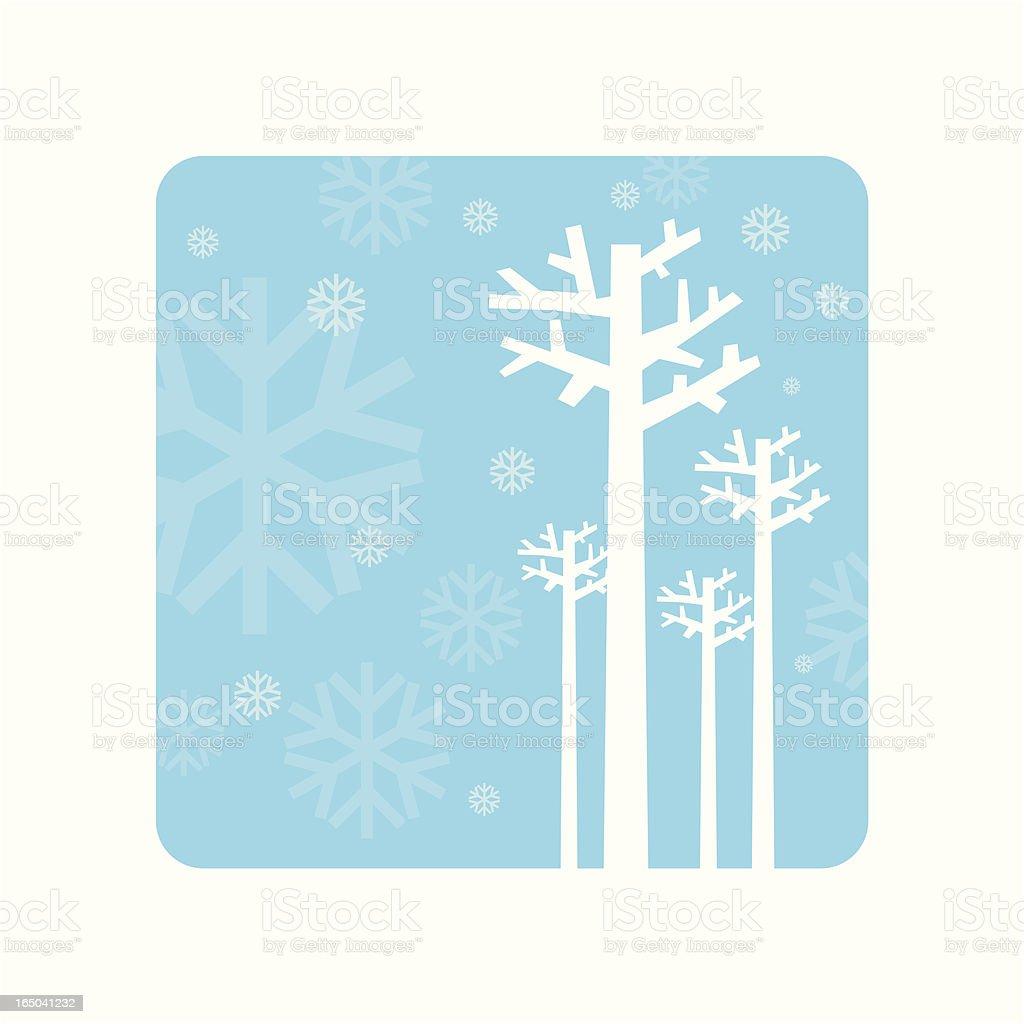 Winter royalty-free stock vector art