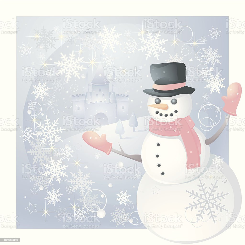Winter Wonderland royalty-free stock vector art