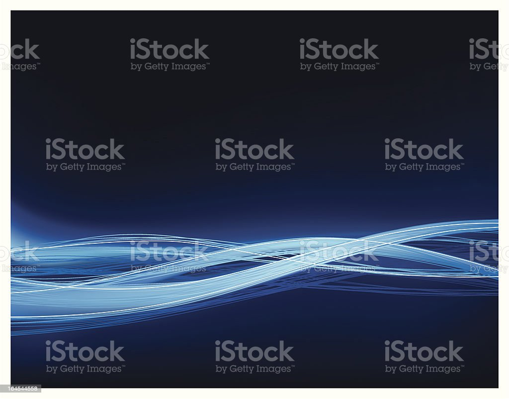 Wired motion royalty-free stock vector art