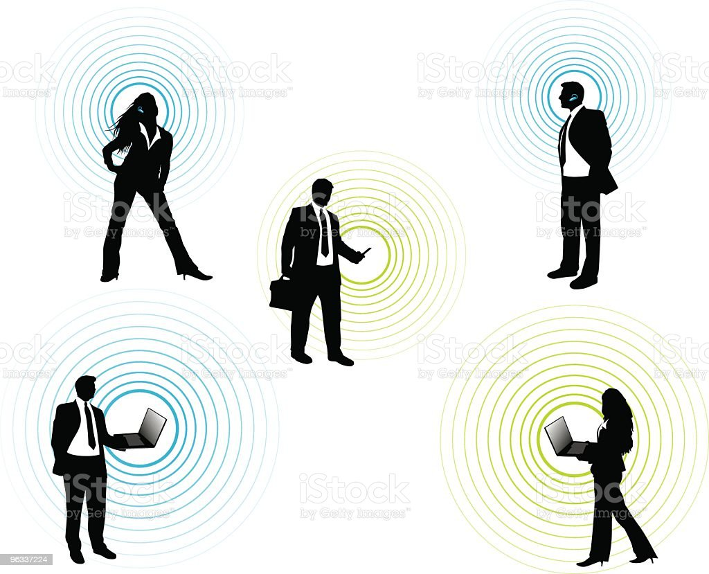 Wireless Communication royalty-free stock vector art