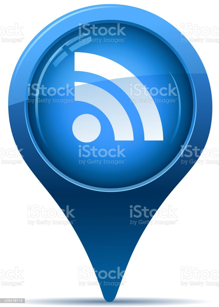 wireless sign royalty-free stock vector art