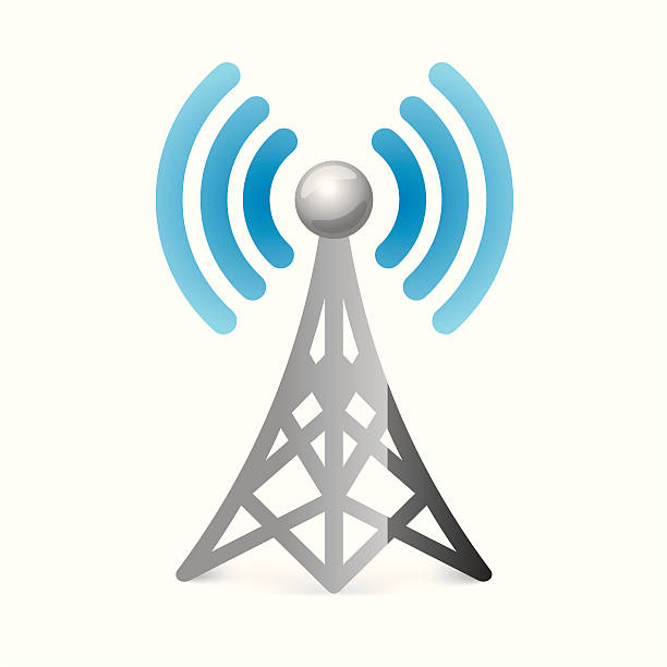 Cell Phone Tower Clip Art, Vector Images & Illustrations - iStock
