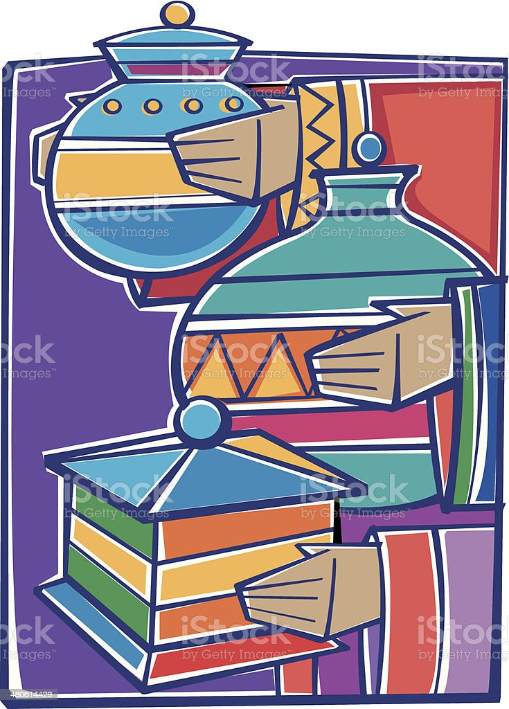 Wise Men Gifts C royalty-free stock vector art