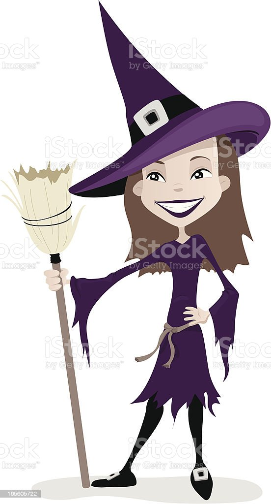 Witch Costume royalty-free stock vector art