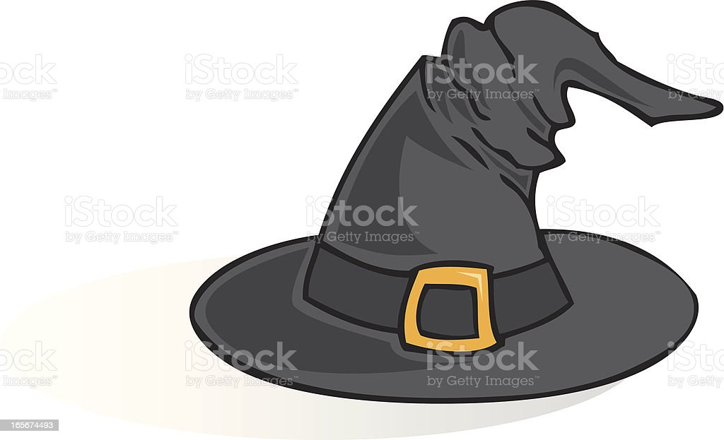 Witch Hat royalty-free stock vector art