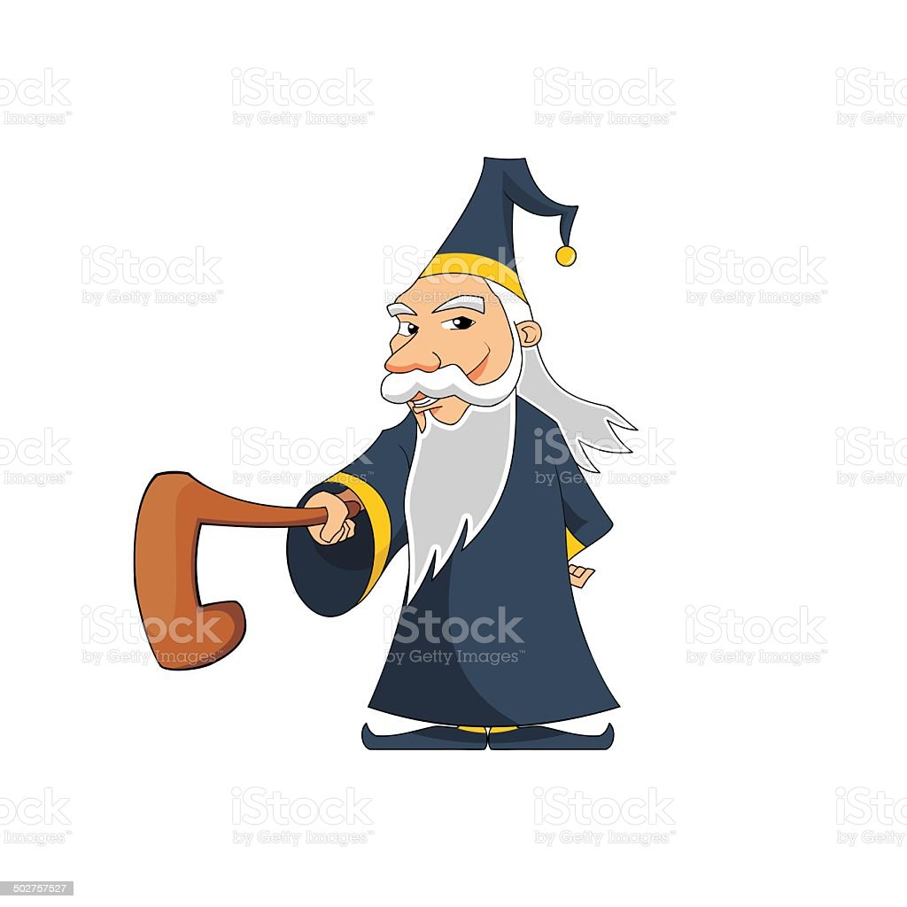 Wizard 1 royalty-free stock vector art