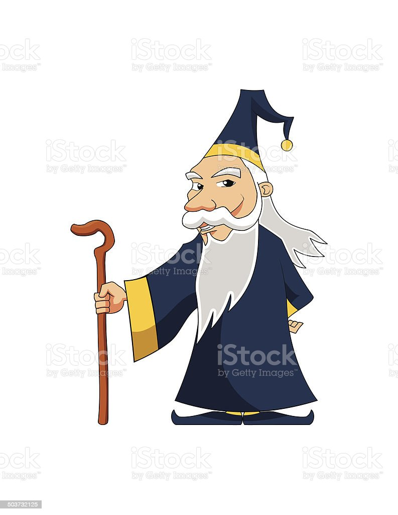 Wizard 4 royalty-free stock vector art