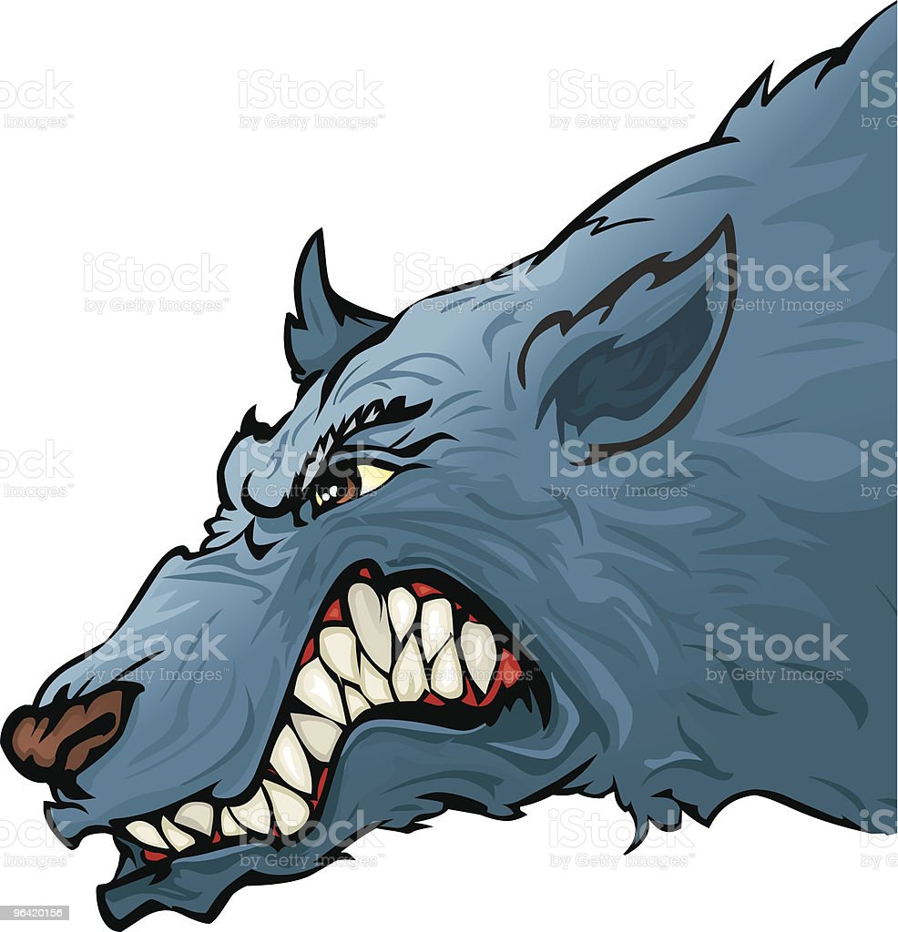 Wolf royalty-free stock vector art
