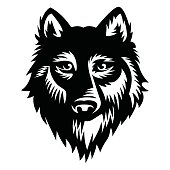 Wolf vector Illustration - VECTOR