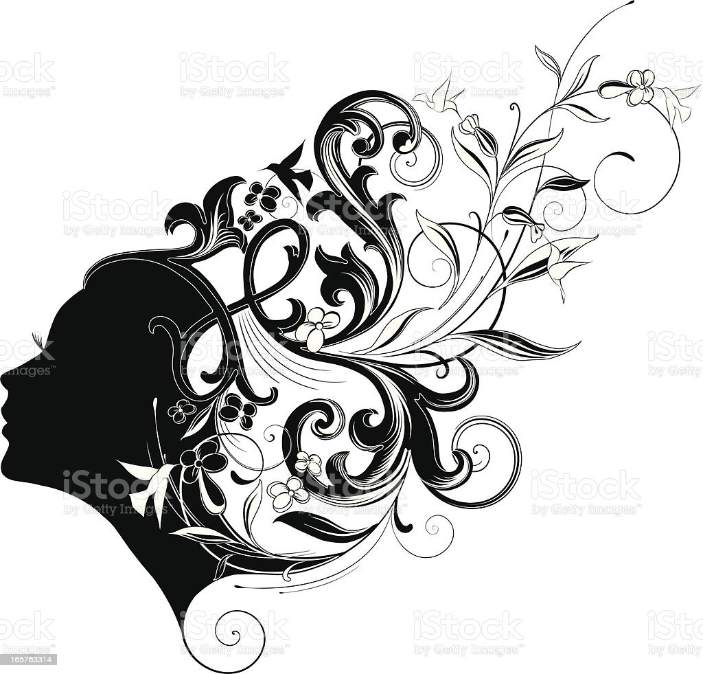 Woman beauty. royalty-free stock vector art