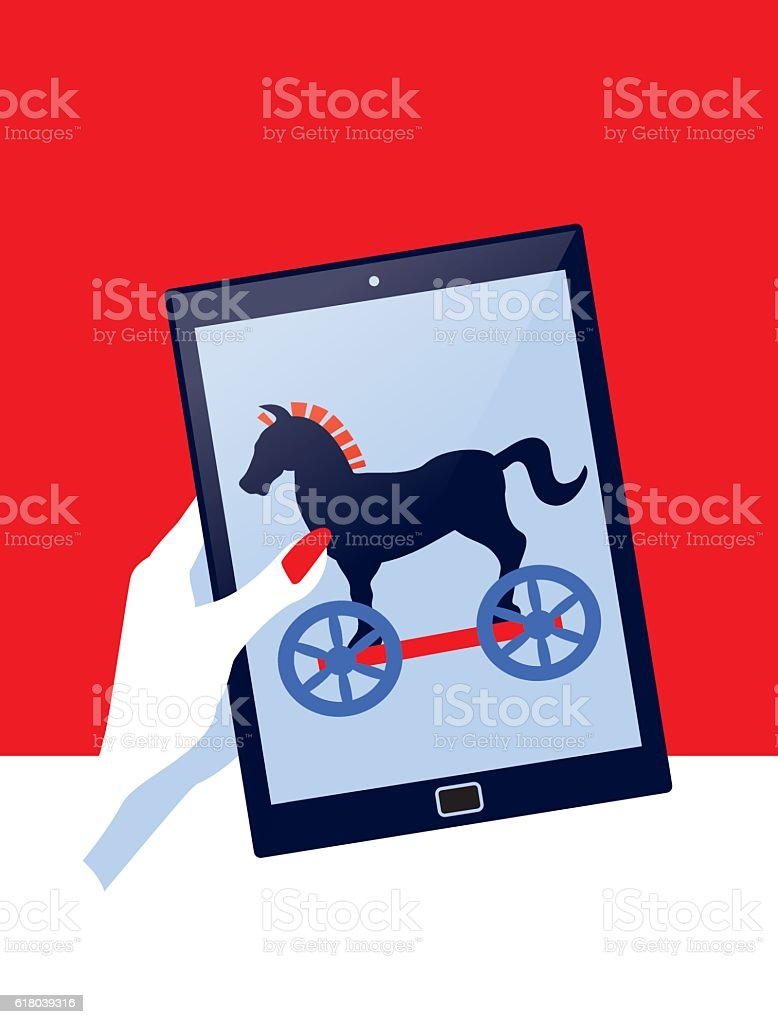Image result for computer trojan horse