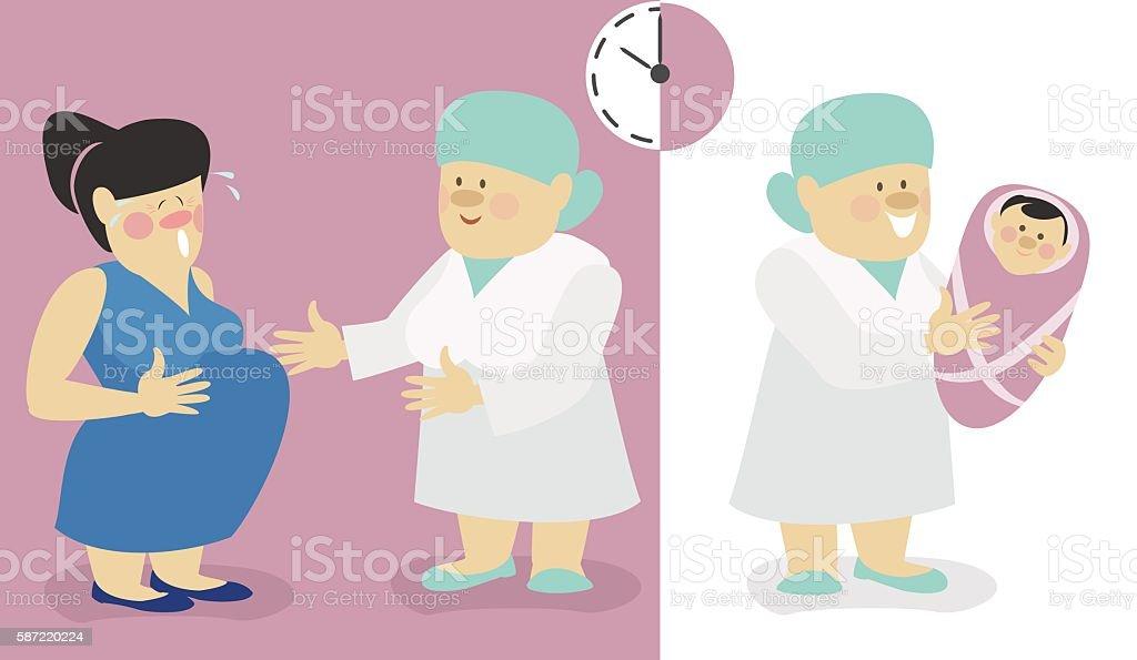 Prepared Childbirth Clip Art