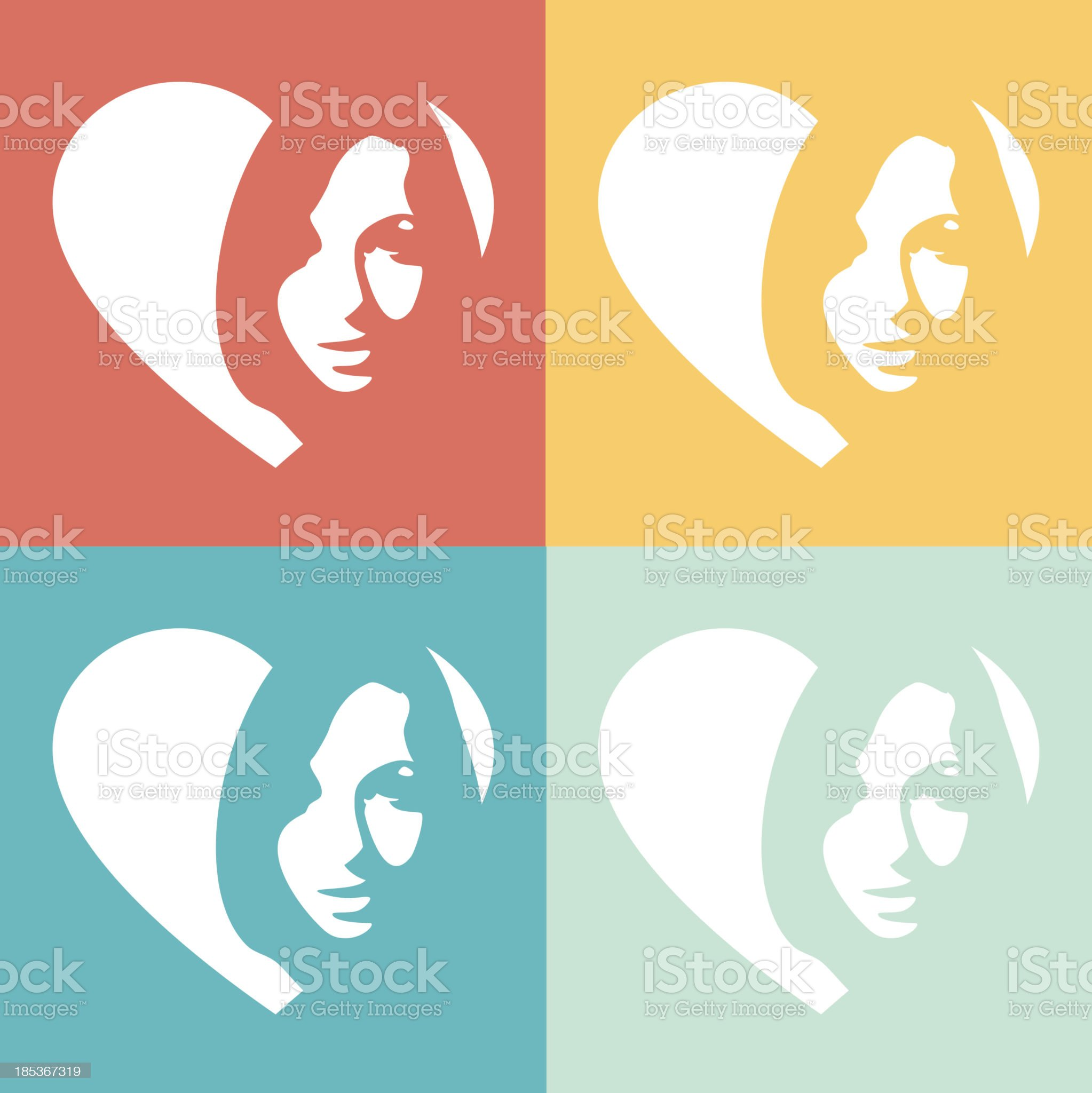 woman royalty-free stock vector art