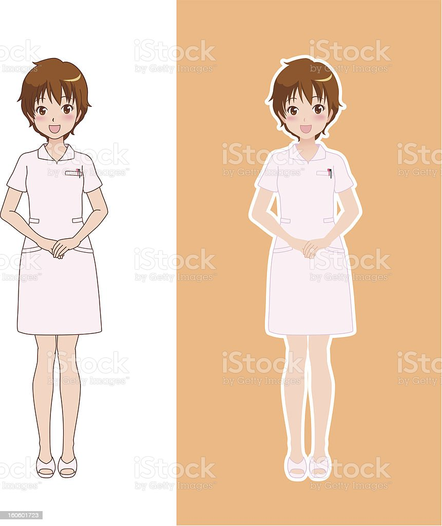 woman_smile royalty-free stock vector art