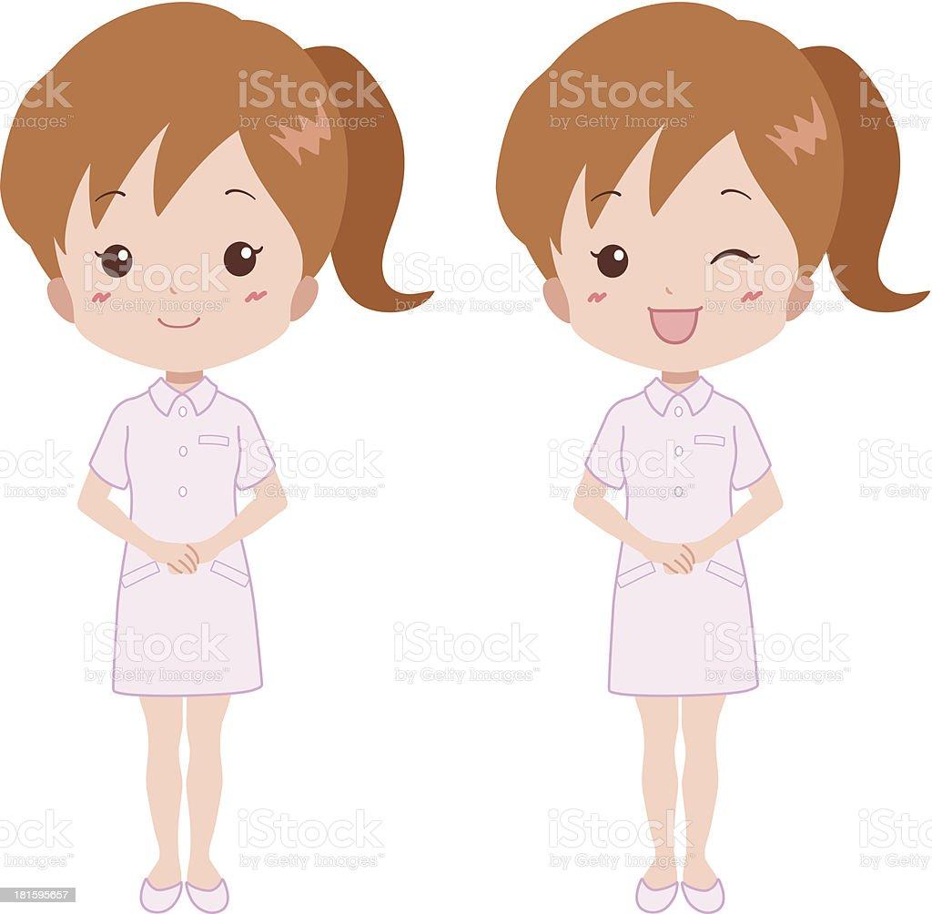 woman_smile royalty-free stock vector art