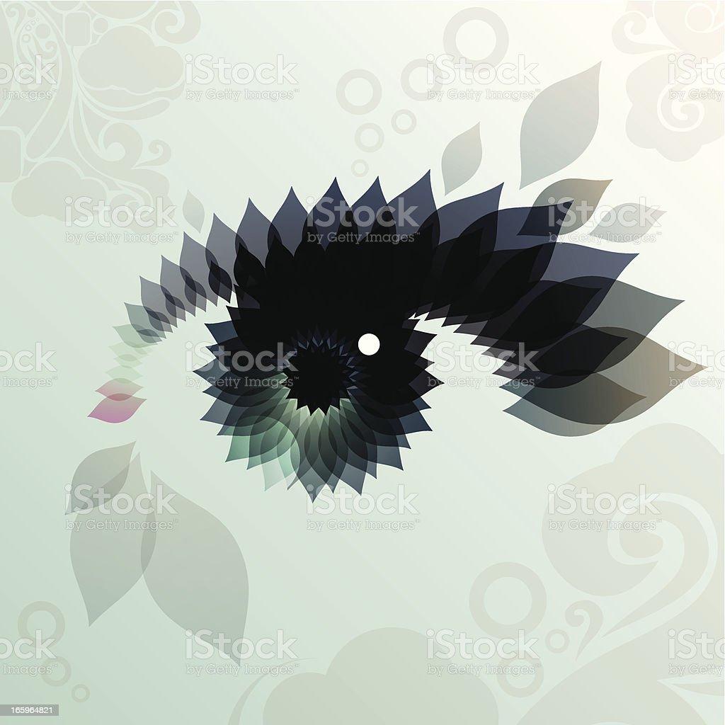 womans eye vector art illustration