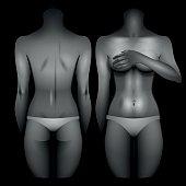 Women body template