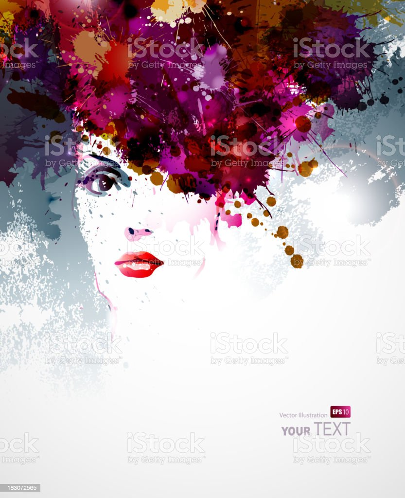 women face royalty-free stock vector art