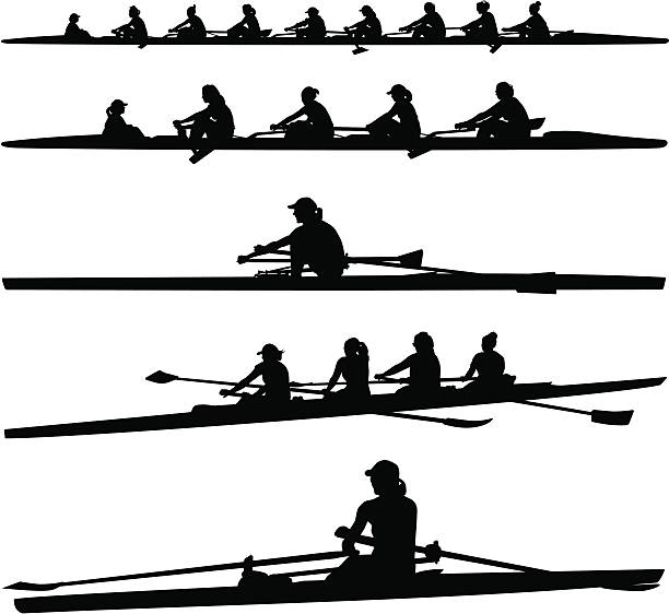 Rowing Clip Art, Vector Images & Illustrations - iStock
