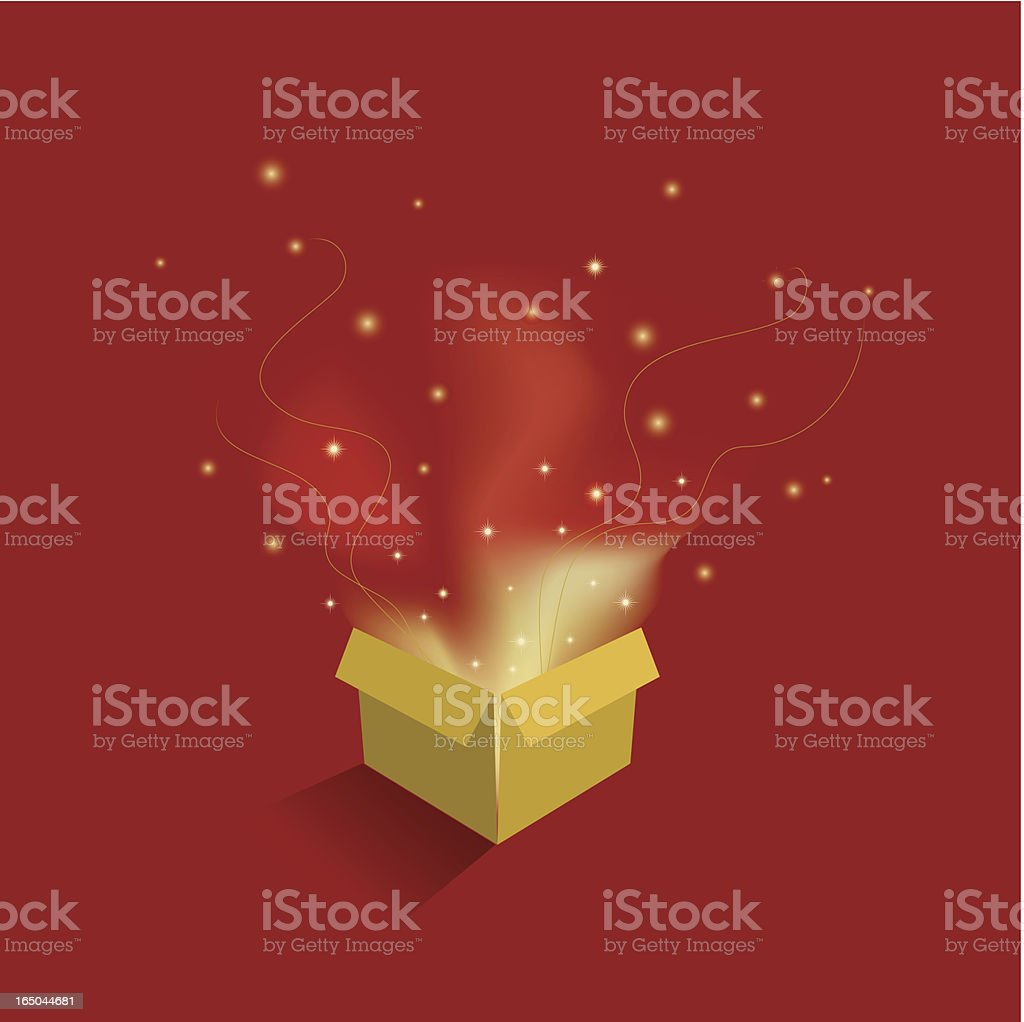 Wonderful Gift royalty-free stock vector art