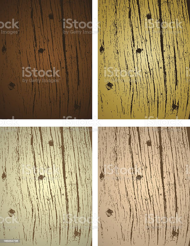 Wood Assortment vector art illustration