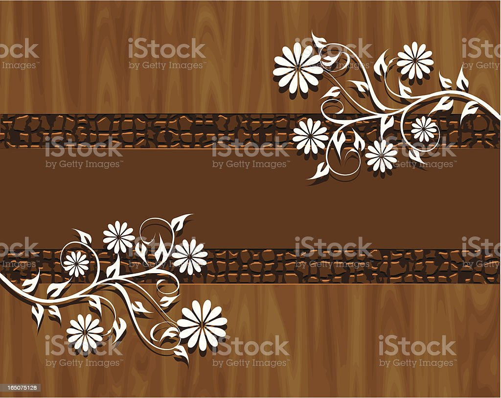Wood background . royalty-free stock vector art