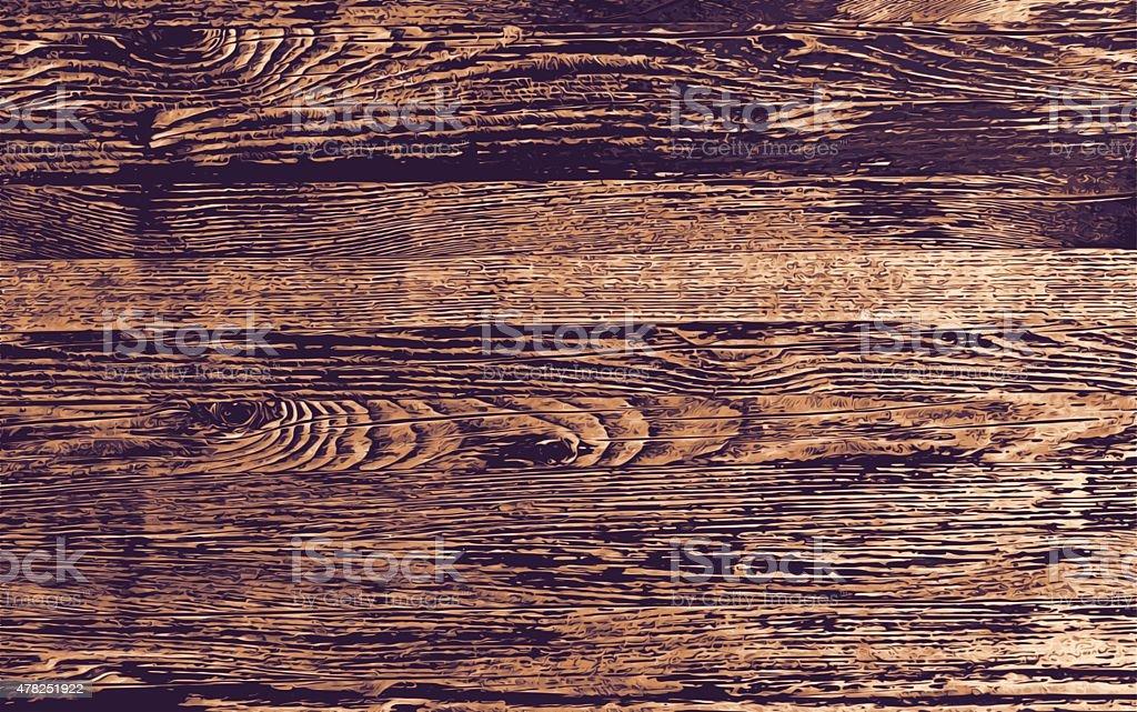 Wood Background vector art illustration
