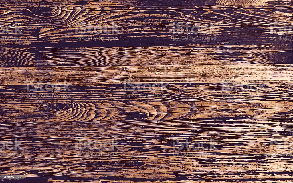 Wood Background vector art illustration
