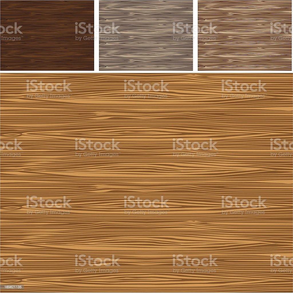 Wood Backgrounds - VECTOR vector art illustration