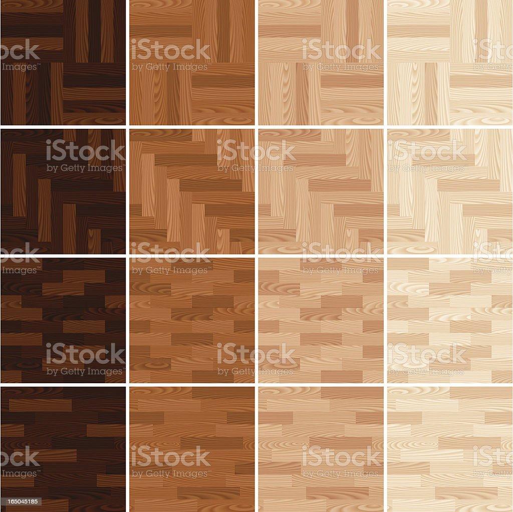 wood flooring vector art illustration