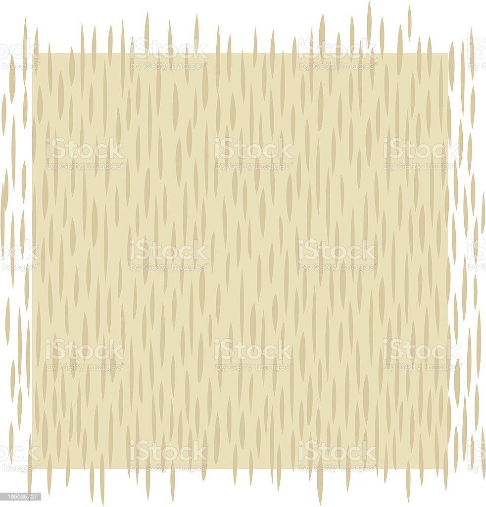 Wood Grain Pattern in Ash royalty-free stock vector art
