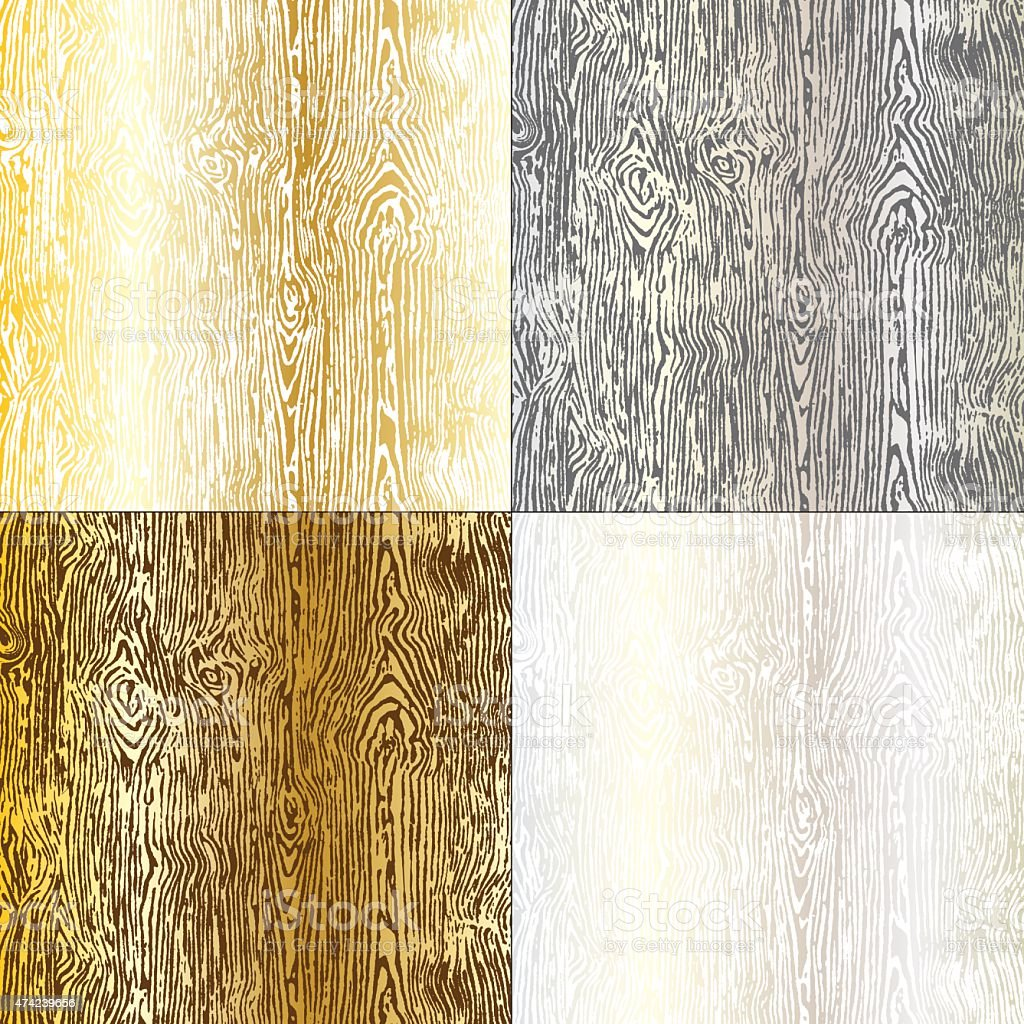 wood grain vector art illustration