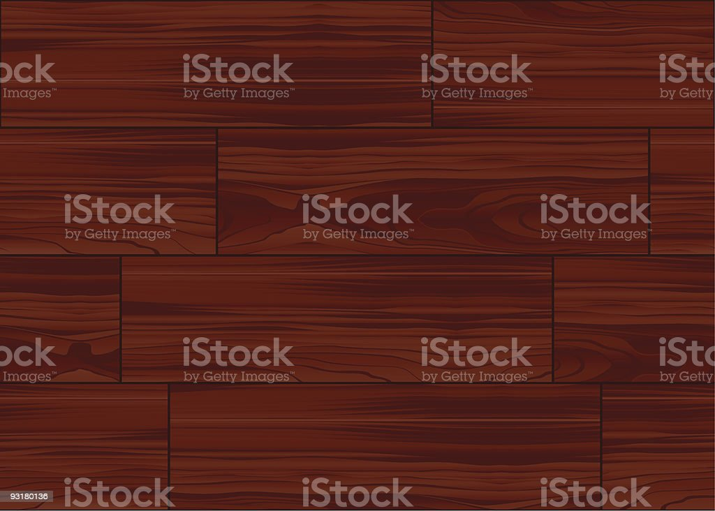 Wood parquet floor seamless pattern tile royalty-free stock vector art