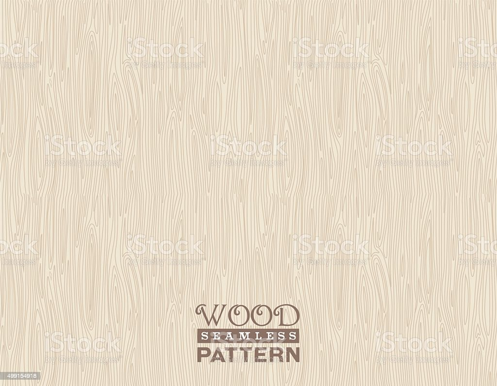 wood pattern seamless vector art illustration