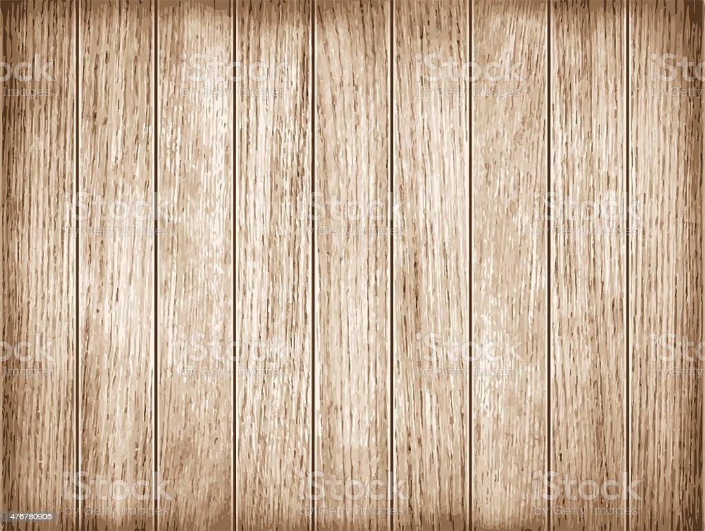 Wood plank texture. Vector vector art illustration
