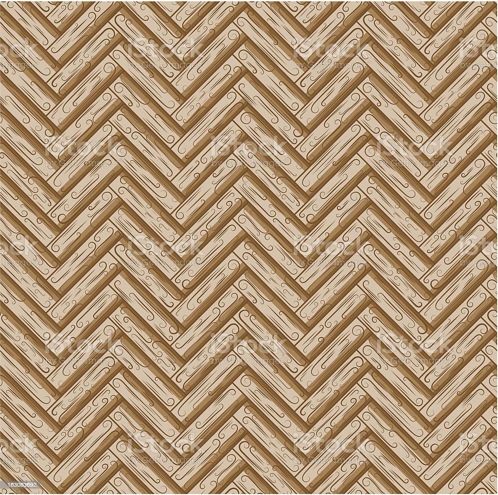 Wood seamless texture royalty-free stock vector art