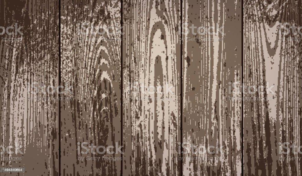 Wood texture background vector art illustration