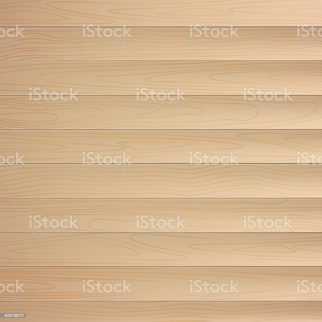 Wood texture, natural wooden background. vector art illustration