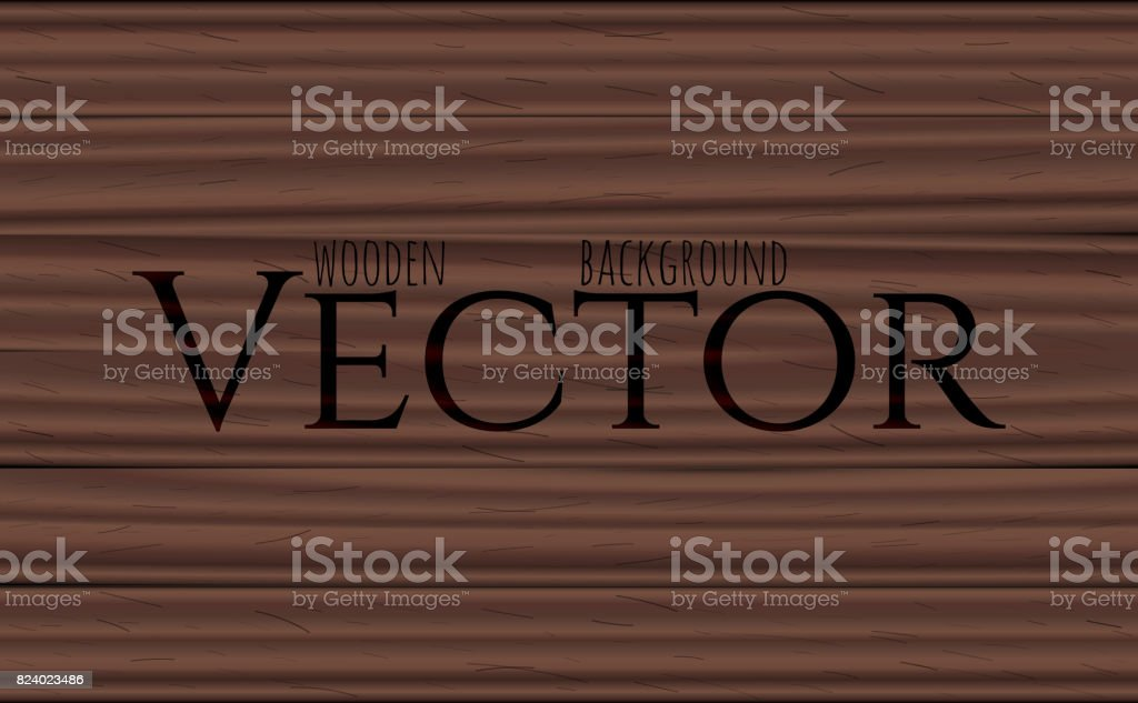 Wood texture, vector Eps10 illustration. Natural Rosewood Wooden Background. vector art illustration