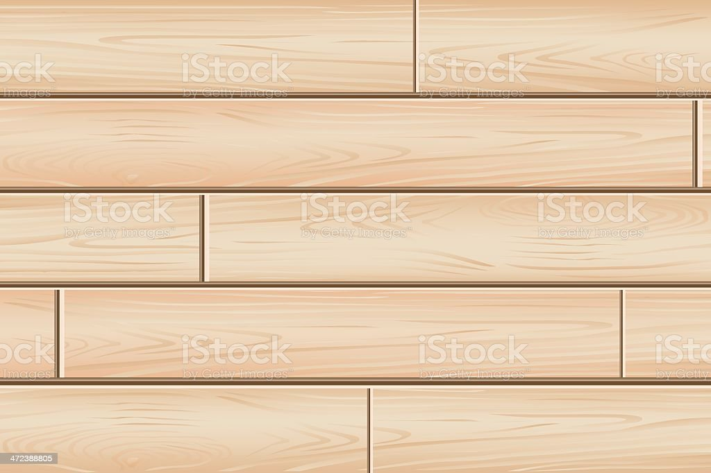Wood texture vector art illustration