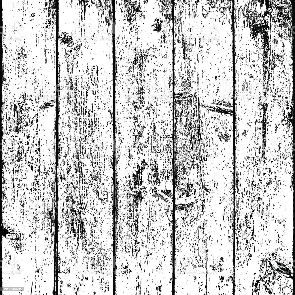 Wood Texture with Realistic Structure vector art illustration